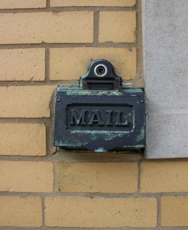 Original mail slot
