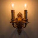 Detail of sconces