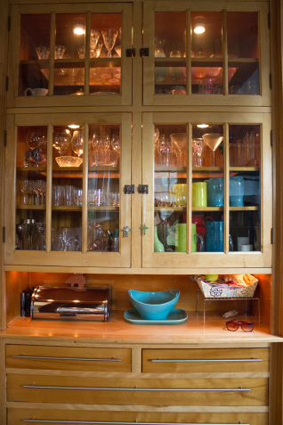The original butler's pantry